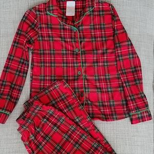Girls Christmas Pajama Set